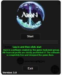 Aion Application Bot - Aion Hack